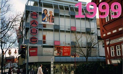 Modehaus Haug Kirchheim im Jahr 1999